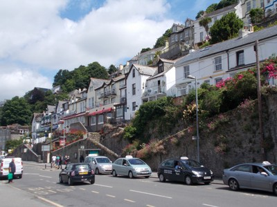 LOOE CORNWALL. Another view of hotel.