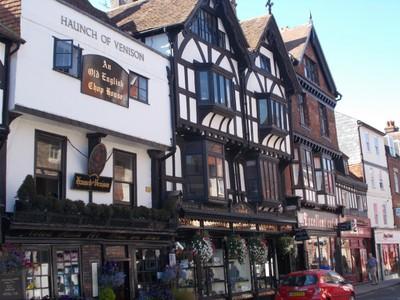 SALISBURY.  Haunch of Venison, 1 Minster Street ,established in 1320.