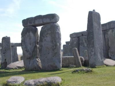 STONEHENGE.  Prehistoric monument in Wiltshire England.