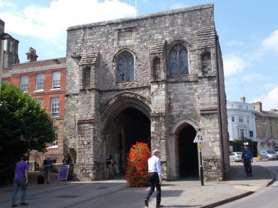 WINCHESTER.  Westgate , medieval gateway..Museum inside.