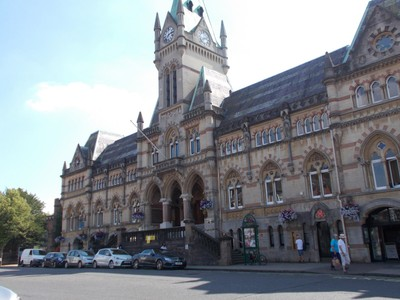 WINCHESTER GUILDHALL.  Victorian Town Hall.
