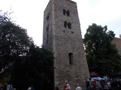 OXFORD  UK   Saxon Tower.    Thousand years old.