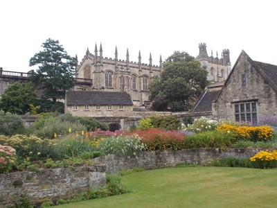 OXFORD UK.  College Garden.