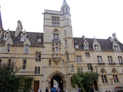 OXFORD  UK.  Entrance into Balliol College