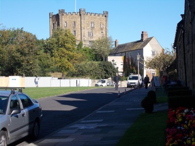 DURHAM Keep of Castle.
