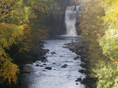 HIGH  FORCE  FALLS.---Donations  Welcome.in collecting  box.