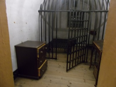 CELL IN CASTLE MUSEUM