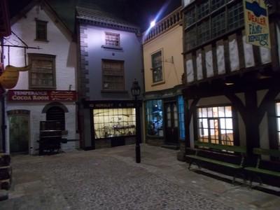VICTORIAN STREET IN CASTLE MUSEUM