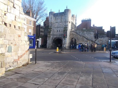 BOOTHAM BAR YORK,FROM EXHIBITION SQUARE.