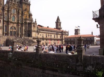 SPAIN  SANTIAGO DE COMPOSTELA.  Grand Plaza.