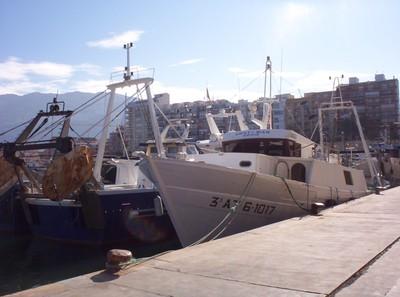 DENIA, COSTA BLANCA, SPAIN ,Fishing boats.