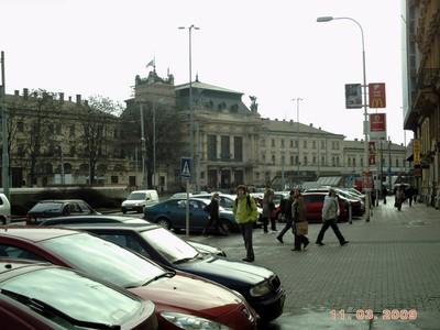 CZECH  BRNO.   Rail  Station.in city centre.  Address  Nadrazni.