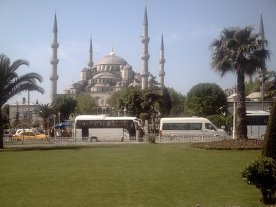 ISTANBUL  TURKEY..      Blue Mosque.