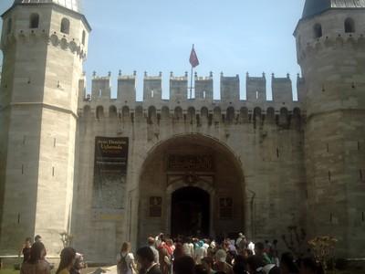 ISTANBUL  TURKEY.....Topkapi  Palace.