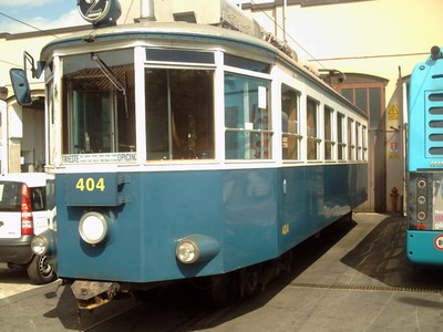TRIESTE ITALY..    Opicia  tram,  near  workshop  and  museum. at  Opicina.