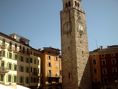 RIVA DEL  GARDA  ITALY.--Torre Apponale.