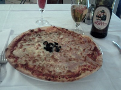 ITALIAN  MEAL  AND  BEER.