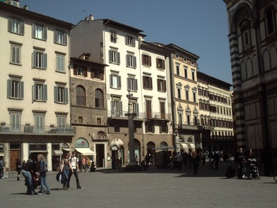 HISTORIC  FLORENCE  ITALY/