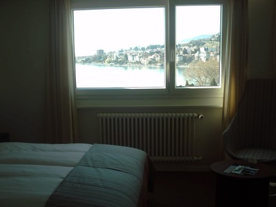MONTREUX  SWITZERLAND.. from  7th  floor of  hotel.
