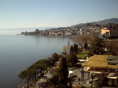 MONTREUX  SWITZERLAND.   View  from  hotel  Eurotel.