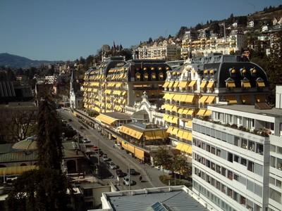 MONTREUX  SWITZERLAND... Some  posh  hotels.
