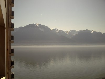 MONTREUX  SWITZERLAND.  Looking  towards  France ,  across  the  lake.