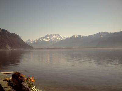 MONTREUX   SWITZERLAND.   Alps.
