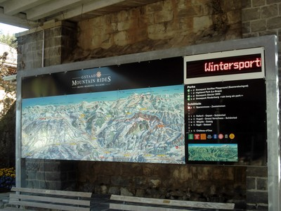 GSTAAD  SWITZERLAND.  Ski  slopes  information. -- Lifts, Chair  lifts,  Gondolas  and Cableways.