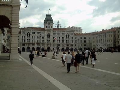 TRIESTE  ITALY. --Piazza  Unity.