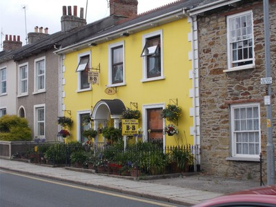 TRURO CORNWALL. Guest House.