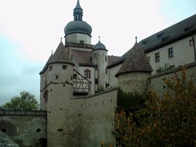 WURZBURG  GERMANY.       Marienberg   Castle.