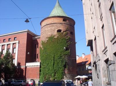 RIGA LATVIA.  Powder Tower.