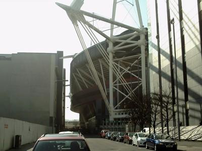CARDIFF  WALES.--Stadium.