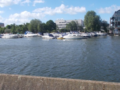 LINCOLN . Waterfront on river Witham.