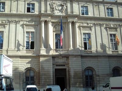 ARLES,  FRANCE.  --  Town Hall,  in Place de la  Republique.