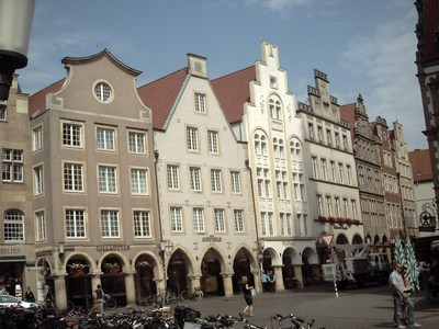 MUNSTER,   GERMANY. --  Prinzipalmarkt.