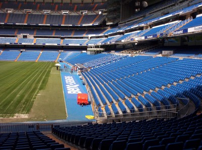 REAL  MADRID   Stadium.