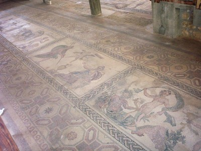 CYPRUS  PAPHOS    -- Mosaic.