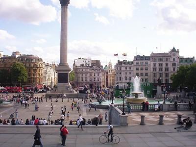 LONDON  ENGLAND.   Trafalgar  Square.