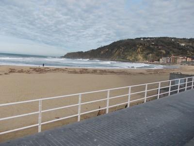 SAN SEBASTIAN  SPAIN.    Lovely beaches, this was February.