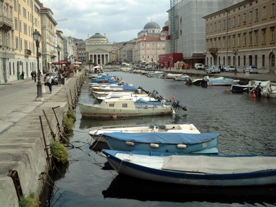 TRIESTE  ITALY.---Grand Canal.