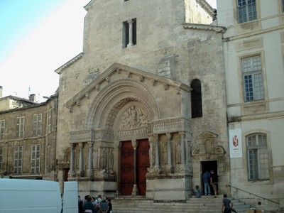 ARLES,  FRANCE. --  St Trophime Church.   R.C --  Former  Cathedral.