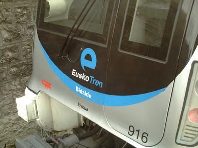 HENDAYA  FRANCE .        Eusko Tren.