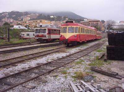 CORSICA BASTIA.......Corsican Railways.