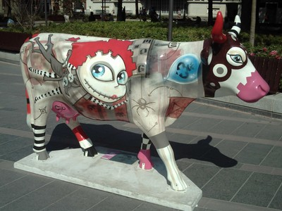 TOULOUSE  FRANCE -- Moo.