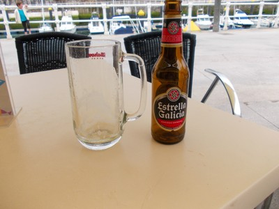 LLANES.  SPAIN.--Refreshment.   -All Gone !    ---  Hic.