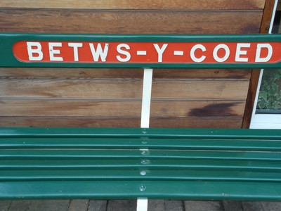 """BETWS-Y-COED  WALES. Just checking to see if iv""""e spelt it right."""