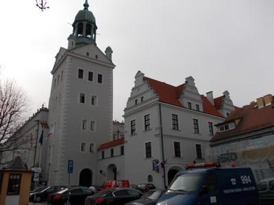 SZCZECIN  POLAND.     Castle Tower.