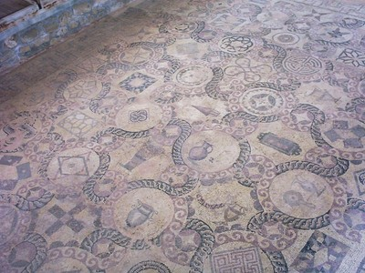 CYPRUS  PAPHOS    Mosaic.