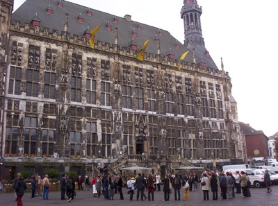 AACHEN  GERMANY.    Rathaus.